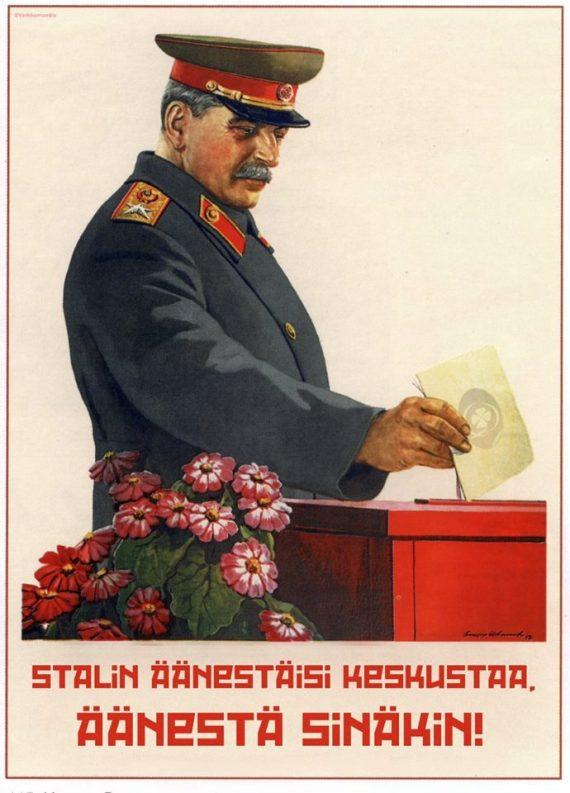 Stalin tunnetusti arvosti miljonäärejä ja valtion omaisuuden myymistä.