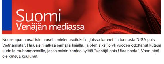 Yle Uutiset 10.4.2015.
