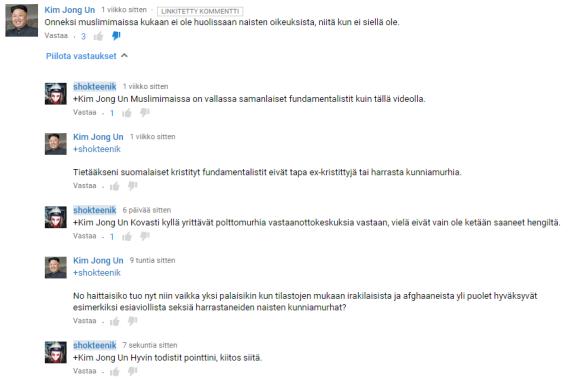"""""""Olisko polttomurhat nyt niin paha juttu"""" t: youtube kommentaattori"""